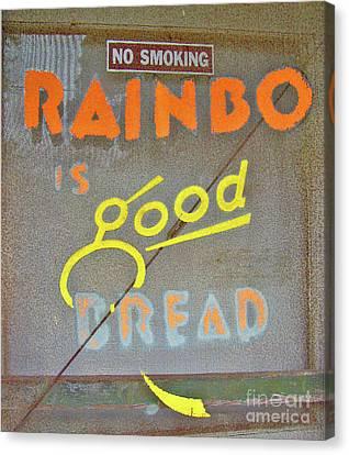 Canvas Print featuring the photograph Good Bread by Joe Jake Pratt