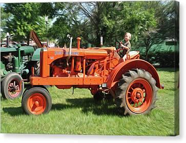 Good Day On The Farm Canvas Print