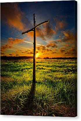 Winter Light Canvas Print - Good Friday by Phil Koch