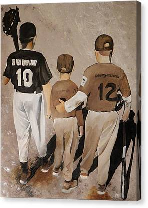 Good Game Guys Canvas Print by Steven Williford
