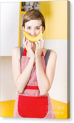 Youthful Canvas Print - Good Health Happiness From A Fresh Fruit Smile by Jorgo Photography - Wall Art Gallery
