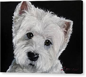 Good Listener Canvas Print by Mary Sparrow
