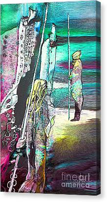 Good Lord Show Me The Way Canvas Print by Miki De Goodaboom