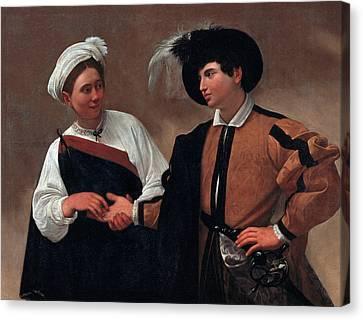 Good Luck Canvas Print by Caravaggio