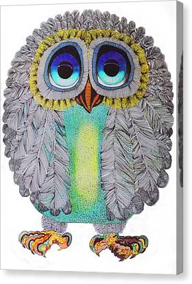 Good Luck Owl Canvas Print