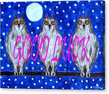 Good Luck Canvas Print by Patrick J Murphy