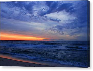Good Morning - Jersey Shore Canvas Print