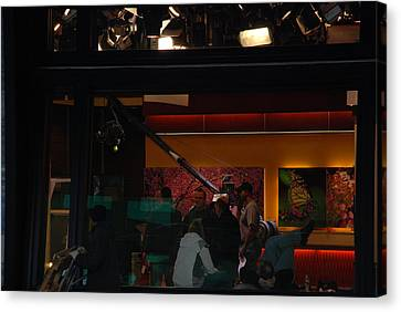 Good Morning America Commercial Break Canvas Print by Rob Hans