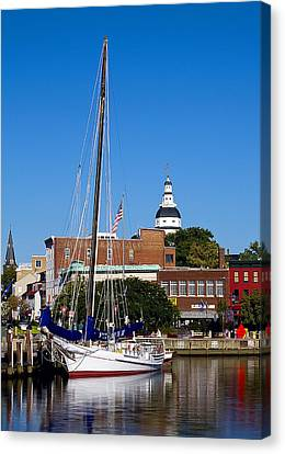 Good Morning Annapolis Canvas Print