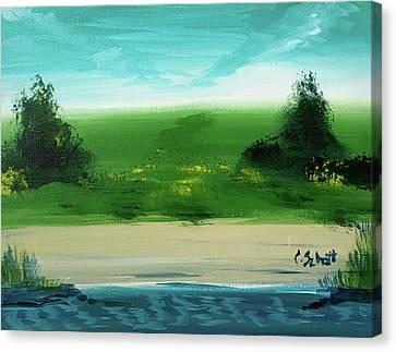 Good Morning Bay Canvas Print