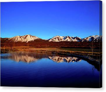 Good Morning Colorado Canvas Print by L O C