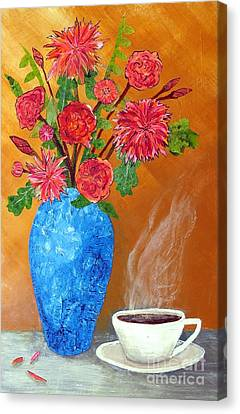 Good Morning Canvas Print by Desiree Paquette