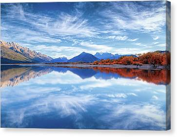 Good Morning Glenorchy Canvas Print