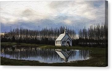 Hallmark Canvas Print - Good Morning - Hope Valley Art by Jordan Blackstone