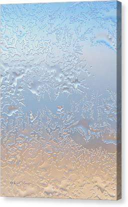 Good Morning Ice Canvas Print by Kae Cheatham