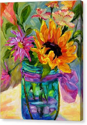 Good Morning Sunshine Canvas Print by Chris Brandley