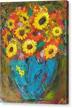 Good Morning Sunshine Canvas Print by Maria Watt