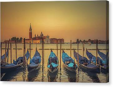 Good Morning Venice Canvas Print by Chris Fletcher