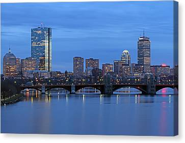 Good Night Boston Canvas Print by Juergen Roth