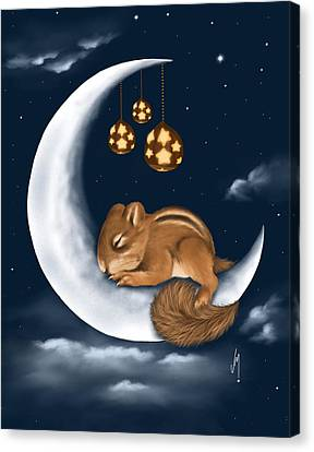 Good Night Canvas Print by Veronica Minozzi
