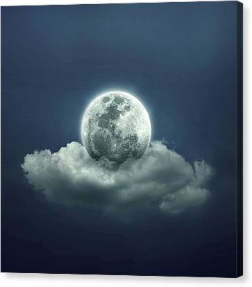 Night Sky Canvas Print - Good Night by Zoltan Toth