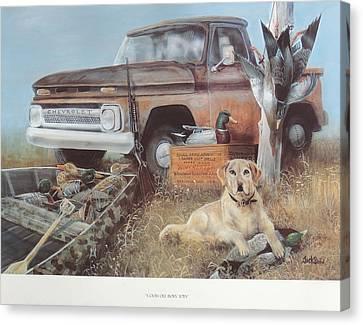 Good Old Boys' Toys  Sold Canvas Print