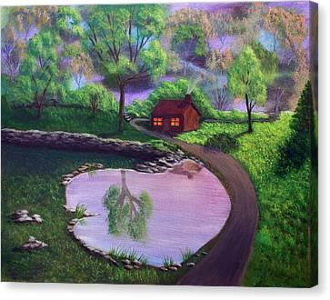Good Spring Morning Canvas Print