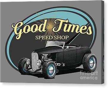 Good Times Ford Canvas Print by Paul Kuras