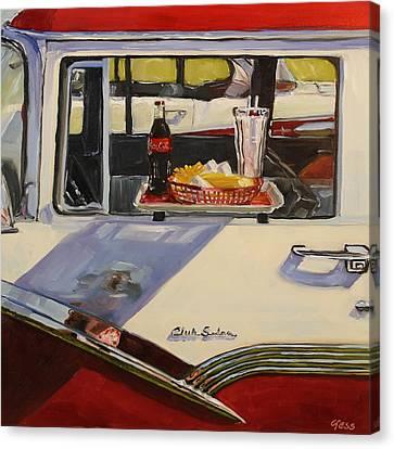 Good Times- The Easy Beats Canvas Print by Tess Lehman