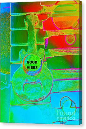 Good Vibes By Jasna Gopic Canvas Print