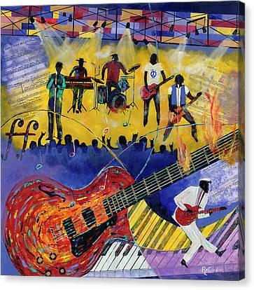 Good Vibrations Canvas Print by Richard L Gordon