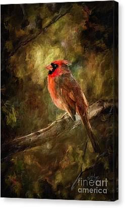 Impressionist Canvas Print - Goodbye Mr. Pip by Lois Bryan