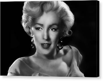 Marylin Monroe Canvas Print - Goodbye Norma Jean by Julie L Hoddinott