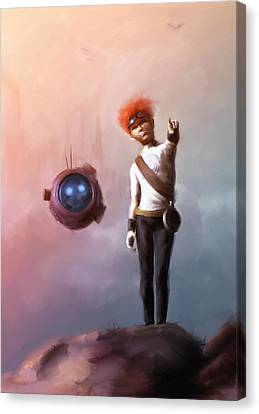 Science Fiction Canvas Print - Goodkid by Jamie Fox