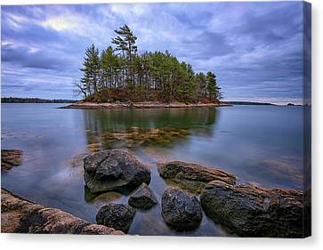 Googins Island Canvas Print by Rick Berk