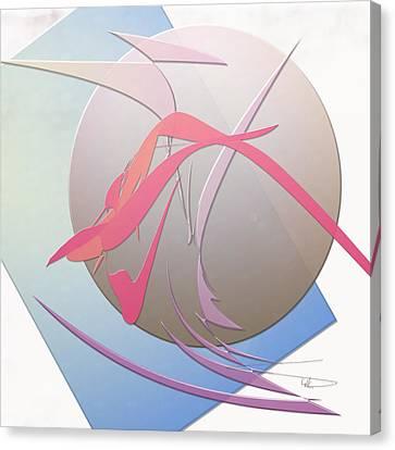 Goop Canvas Print by Warren Lynn