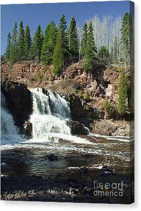 Goosberry Falls Canvas Print