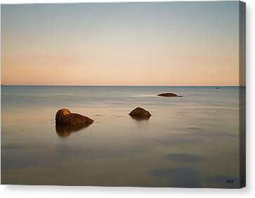 Canvas Print featuring the photograph Gooseberry Island II Color by David Gordon