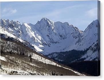 Gore Mountain Range Colorado Canvas Print by Brendan Reals