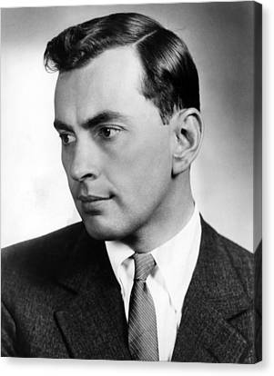 Gore Vidal, Author Of The Best Man Canvas Print by Everett