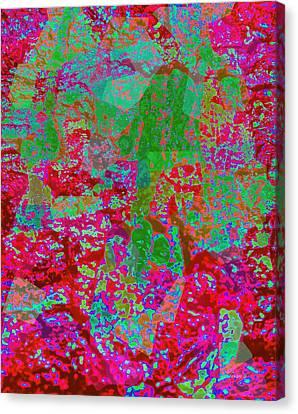 Goree Canvas Print - Goree Texture Enhanced by Fania Simon