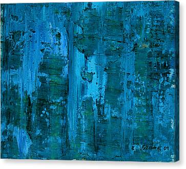 Gorge Canvas Print by Ethel Vrana