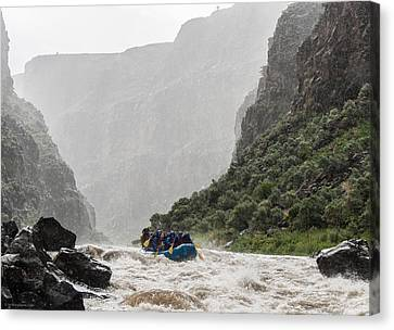 Gorge Squall Canvas Print by Britt Runyon