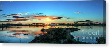 Gorgeous Evening Canvas Print by Robert Bales