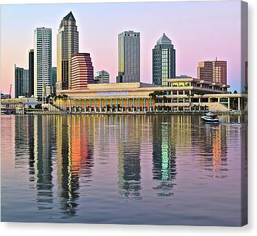 Devil Ray Canvas Print - Gorgeous Tampa Bay by Frozen in Time Fine Art Photography
