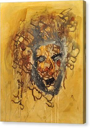 Gorgoneion Canvas Print