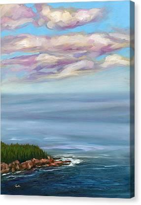Gorham Mountain View Canvas Print