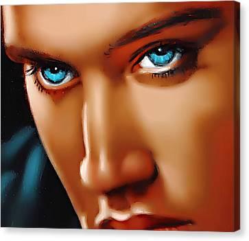 Gospel Elvis Canvas Print