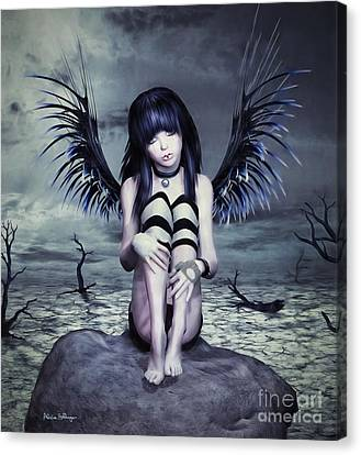 Goth Fairy Canvas Print