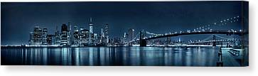 Gotham City Skyline Canvas Print